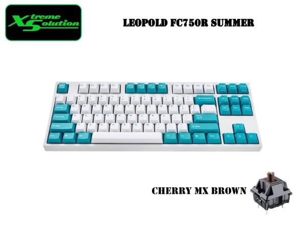 Leopold FC750R Summer Edition Mechanical Keyboard