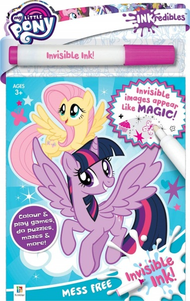 Inkredibles My Little Pony Invisible Ink / English Toddler Books / Activity Books / (9781488933066)