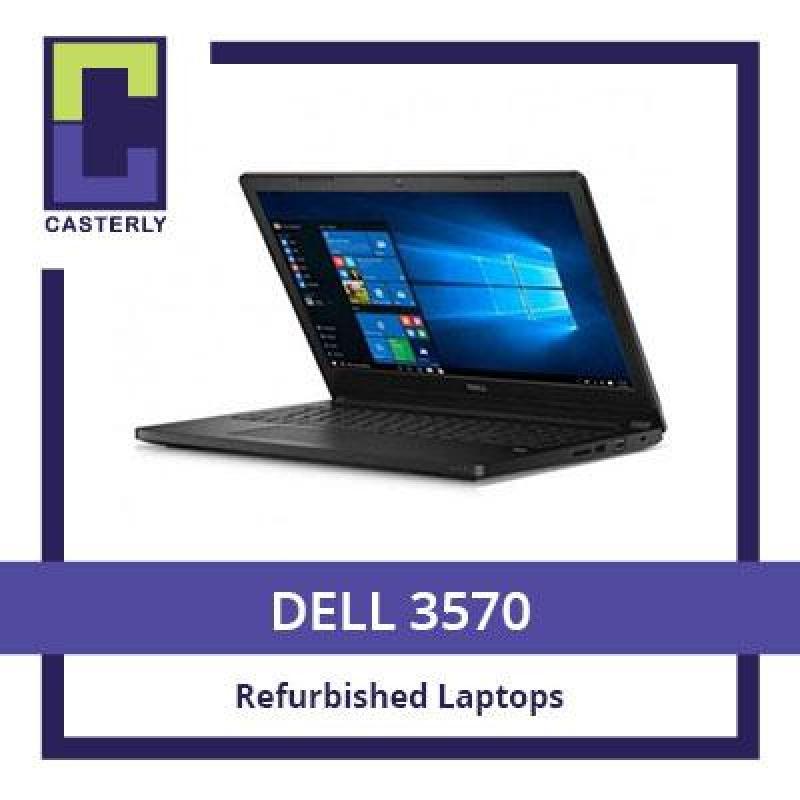 [Refurbished] DELL Latitude 3570/ Intel Core i3-6th Gen / 4GB RAM / 128GB SSD / WIN 10 / 3 Months Warranty