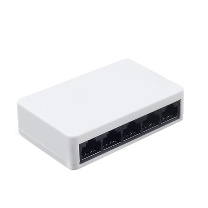 Bảng giá 5 Ports Mini Ethernet RJ45 10/100Mbps Network Switch Hub Portable Travel Lan Hub for PC PS4 XBOX NS Switch Phong Vũ