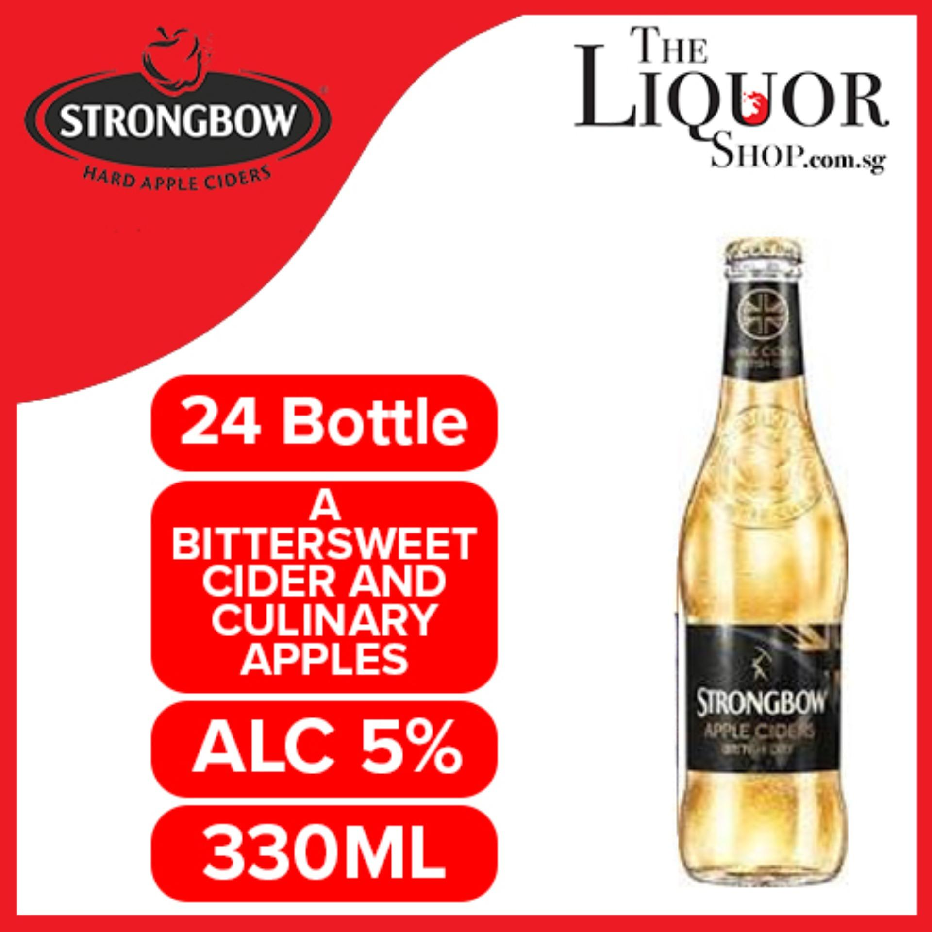 Strongbow Apple Cider British Dry 24x330ml By The Liquor Shop.