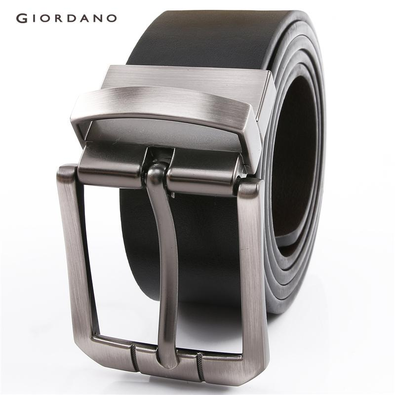 Giordano Men Belt Reversible Leather Belt For Men Casual Essential Men Accessory [free Shipping] 01131023 By Giordano Official.