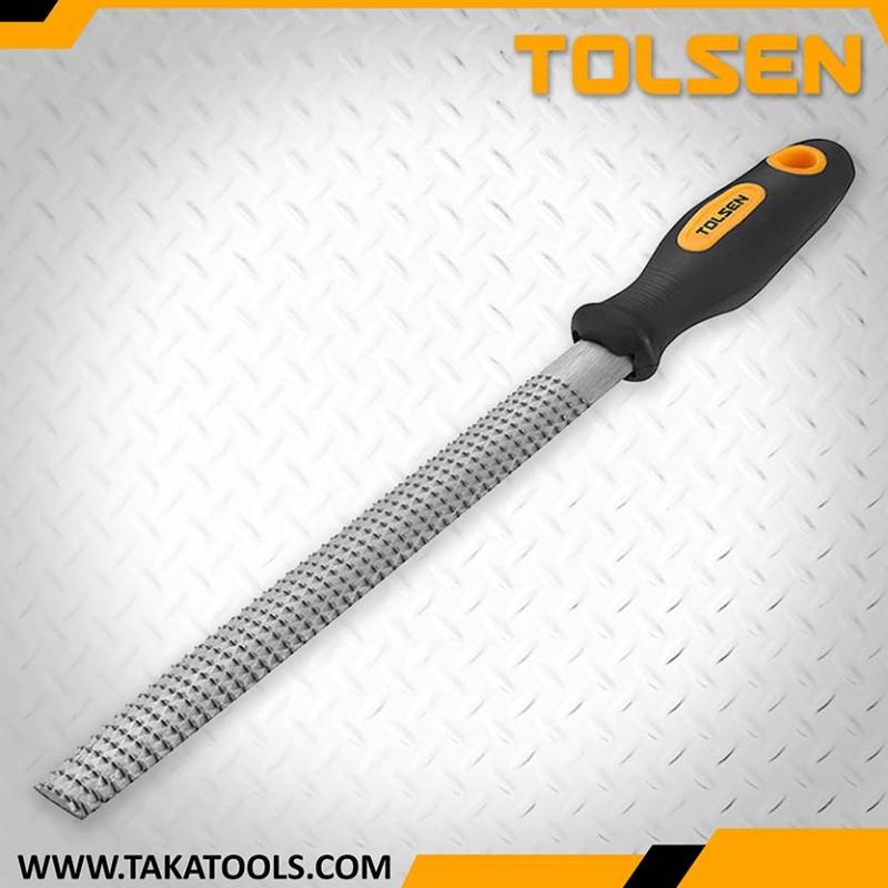 Tolsen Wood file half round - 32025