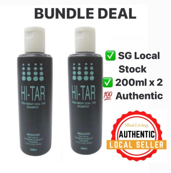 Buy *Bundle* ICM Hi-Tar Shampoo 200ml x 2 Singapore