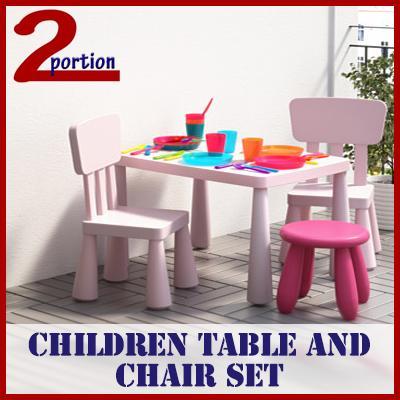 KIDS CHILDREN TABLE CHAIR SET / MAMMU DESIGN / 2-10 YRS OLD / CONVENIENT / PLAY SET