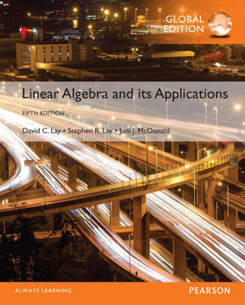 Linear Algebra and Its Applications, Global Edition   Edition 5   9781292092232   Paperback