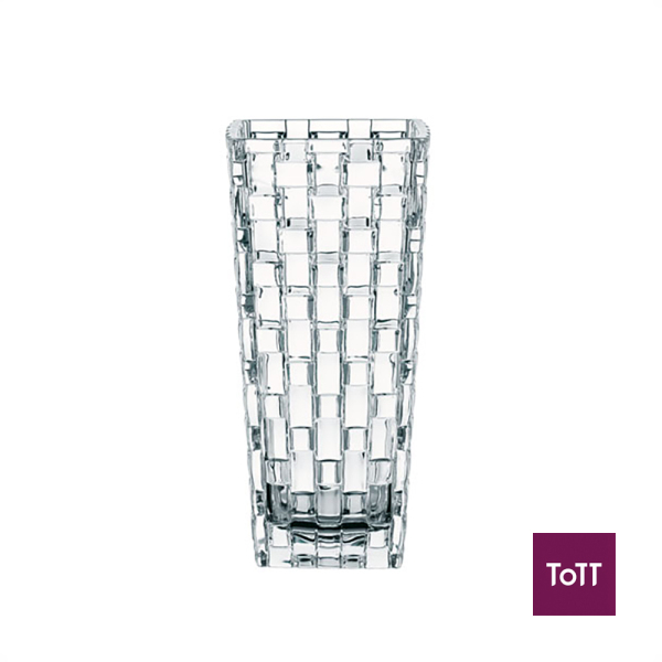 Nachtmann Crystal Vase 9.6xH20cm-Dancing Stars Bossa Nova