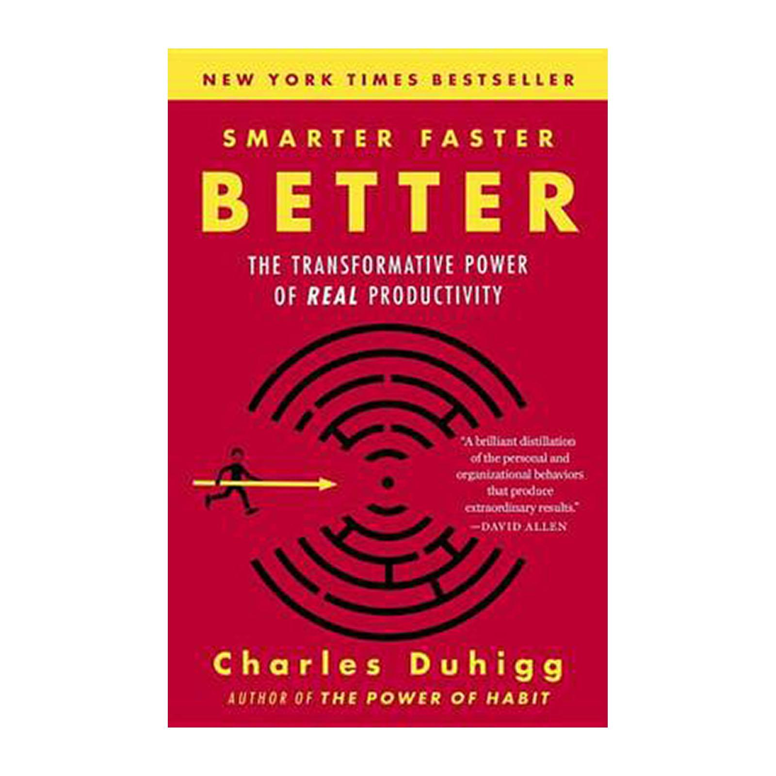 Smarter Faster Better: The Transformative Power Of Real Productivity (Paperback)