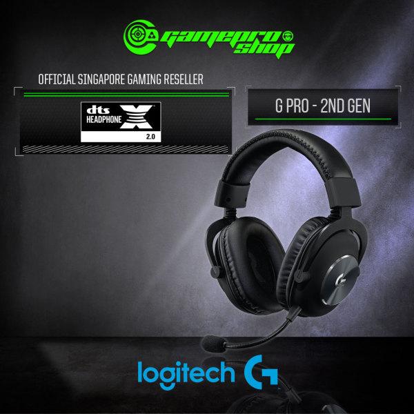 Logitech G Pro Gaming Headset (2nd Gen) - 981-000814 (2Y)