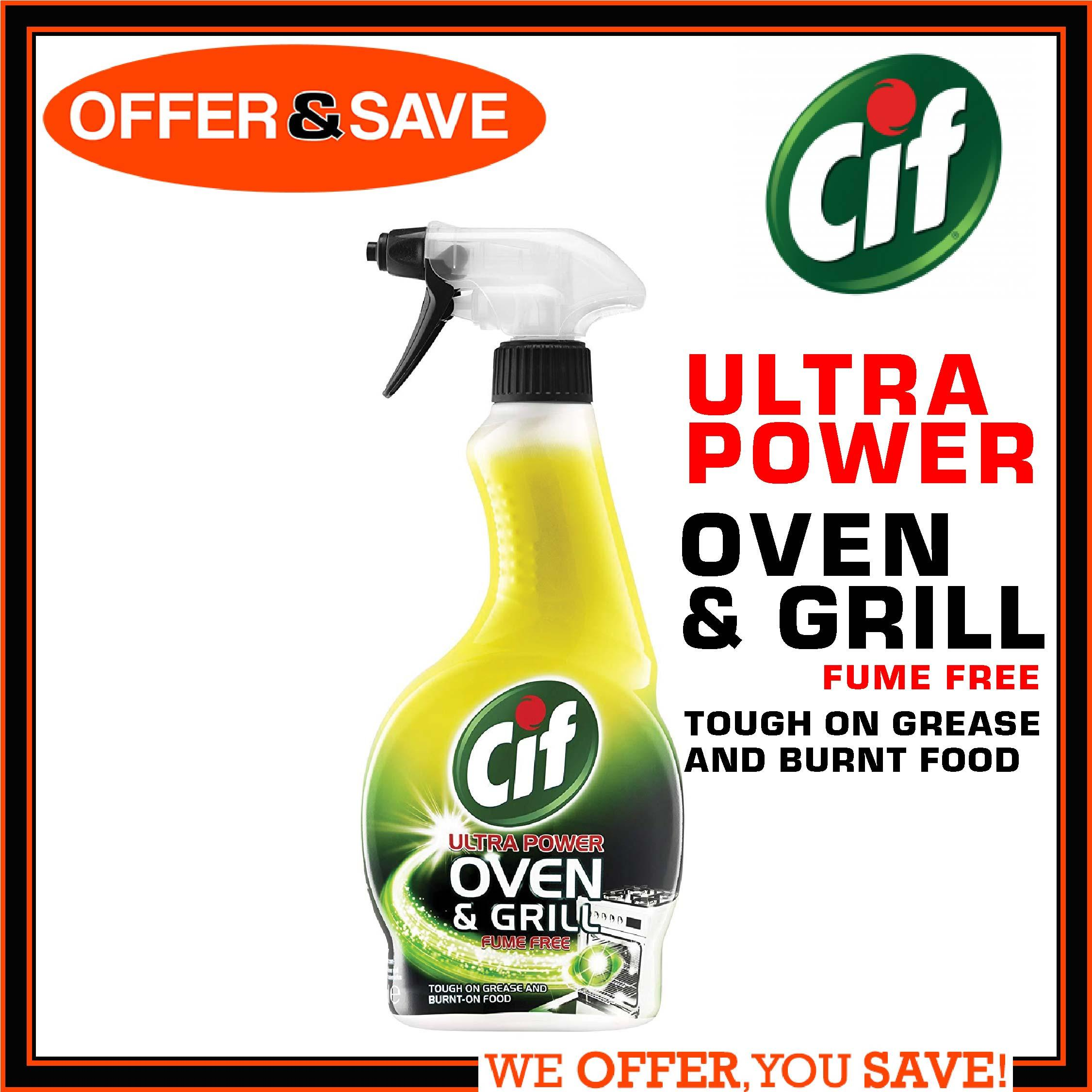Cif Ultra Power Oven & Grill Cleaner Spray - 500ml By Offer & Save.