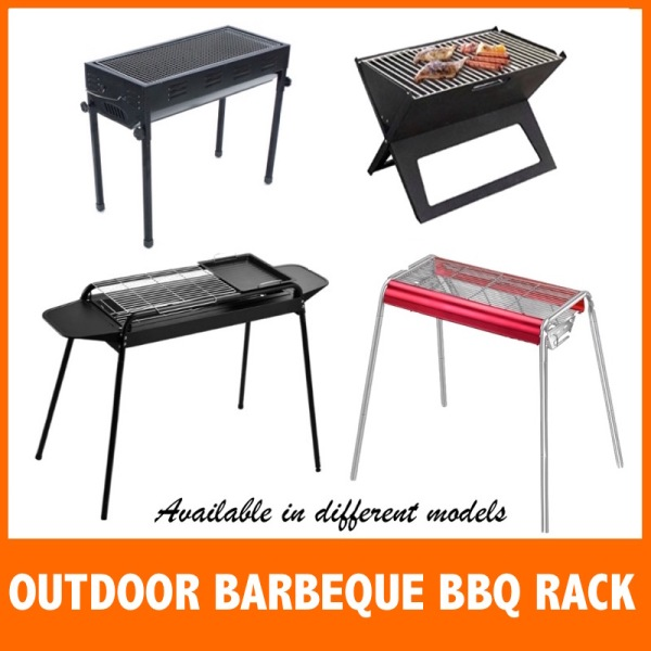 Portable BBQ Grill Rack / Large Medium Small Size/ Portable Barbecue BBQ Rack