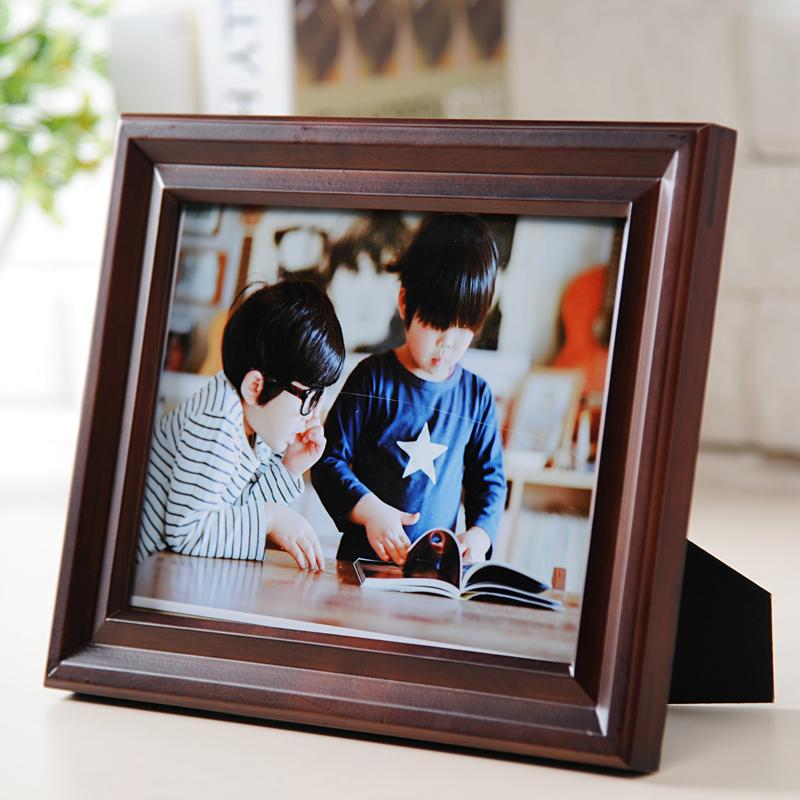 Top Grade Wood Photo Frame Tabletop Photo Frame Painting Frame Family Frame 7/-Inch 8-Inch 10-Inch 12-Inch Wood A4 Certificate Holder