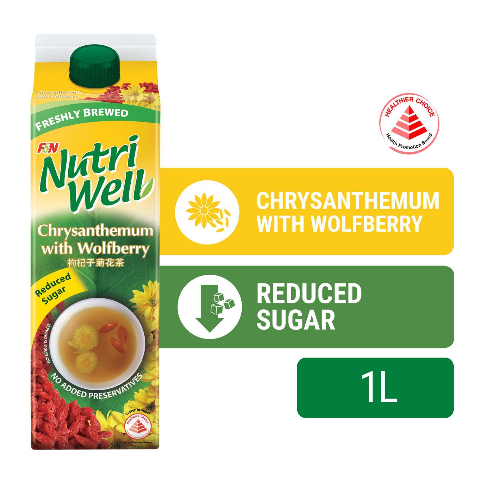 NUTRIWELL Chrysanthemum W/ Wolfberry 1L