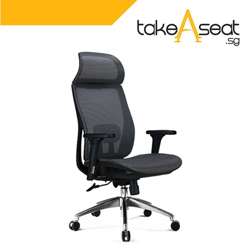 M21 Villa Office Chair (Black)