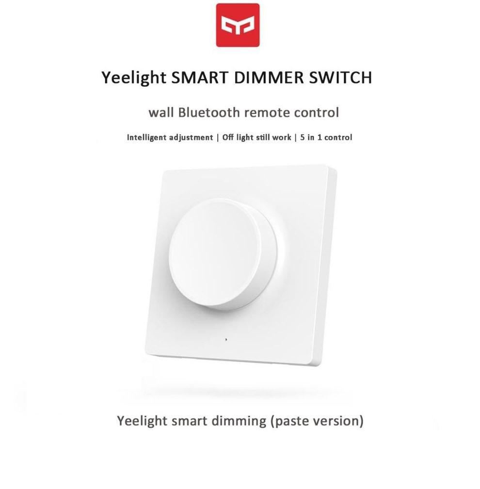 Yeelight Bluetooth Dimmer Switch Smart Controller (Paste Type) YLKG08YL