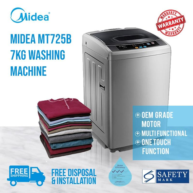 ★free Shipping, Installation And Disposal★ Midea Mt725b Top Load Washing Machine By Midea Official Shop.