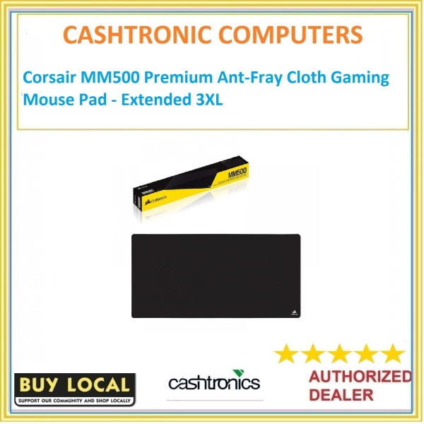 Corsair MM500 Premium Ant-Fray Cloth Gaming Mouse Pad - Extended 3XL