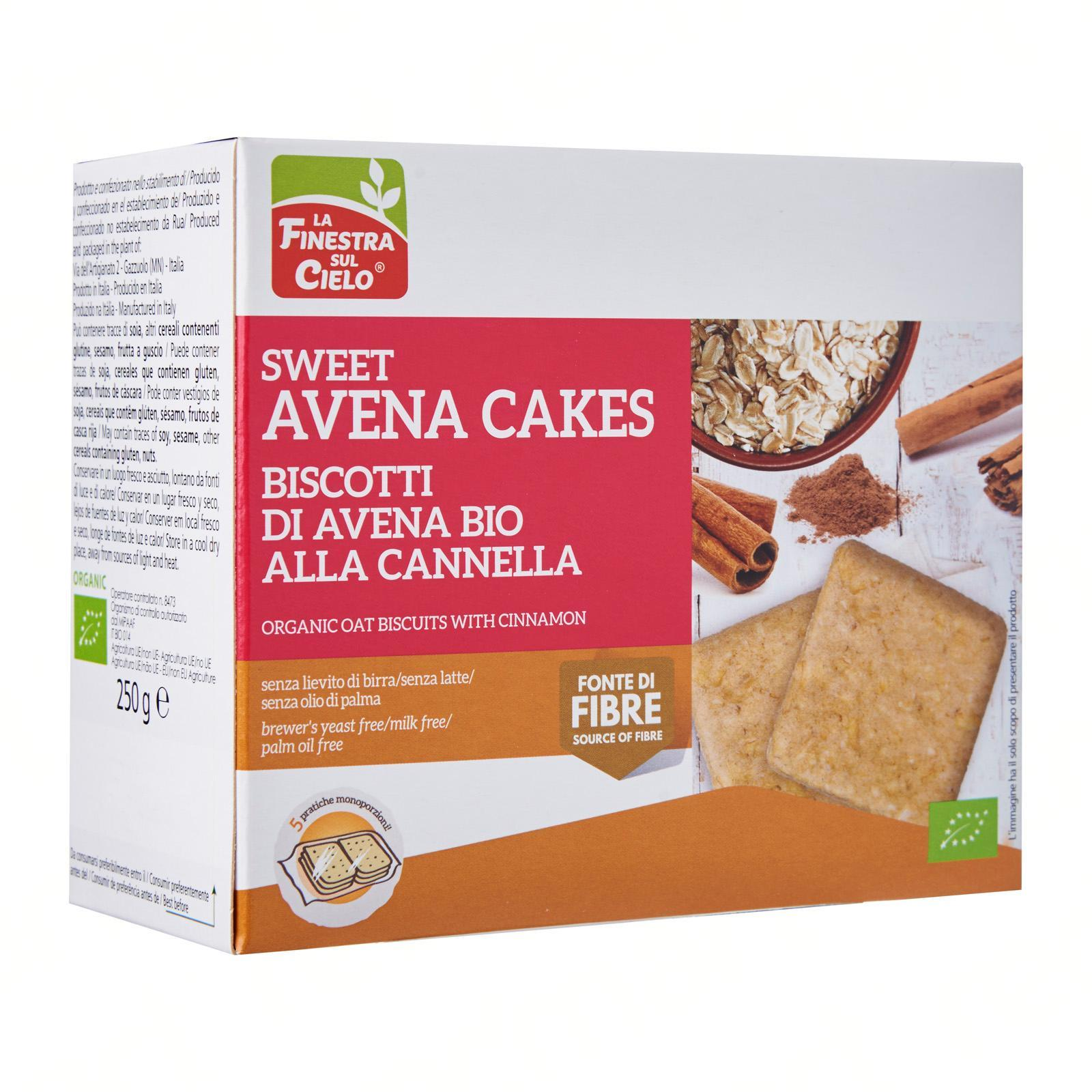 La Finestra Sul Cielo Organic Oat Biscuits With Cinnamon By Redmart.