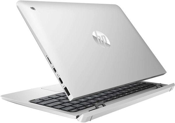 New model  2020 HP 10-p018wm Notebook x2 10.1 WXGA Touchscreen x5-Z8350 1.44GHz 4GB RAM 64GB eMMC Win 10 Home Silver  In-build Webcam [DISPLAY SET] 1 year shop warranty
