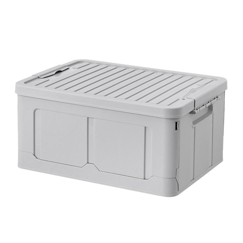 Foldable Storage Box Snack Toy Storage Box Clothes Storage Box Home Dormitory C-Osmetics Storage