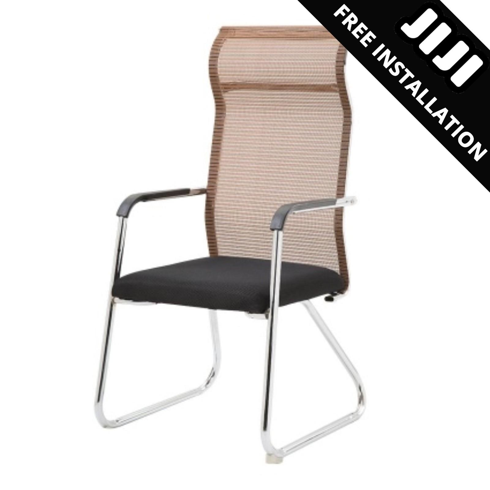JIJI Manager Office Chair Stationary (MESH) (Free Installation) - (Home Office Chair) Office chairs /Study chair/Gaming chair/Ergonomic/ Free 12 Months Warranty (SG) Singapore