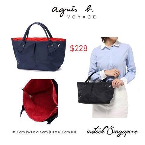 B Bags sg Tote Agnes Lazada Canvas Buy Bag qxpOn7f5