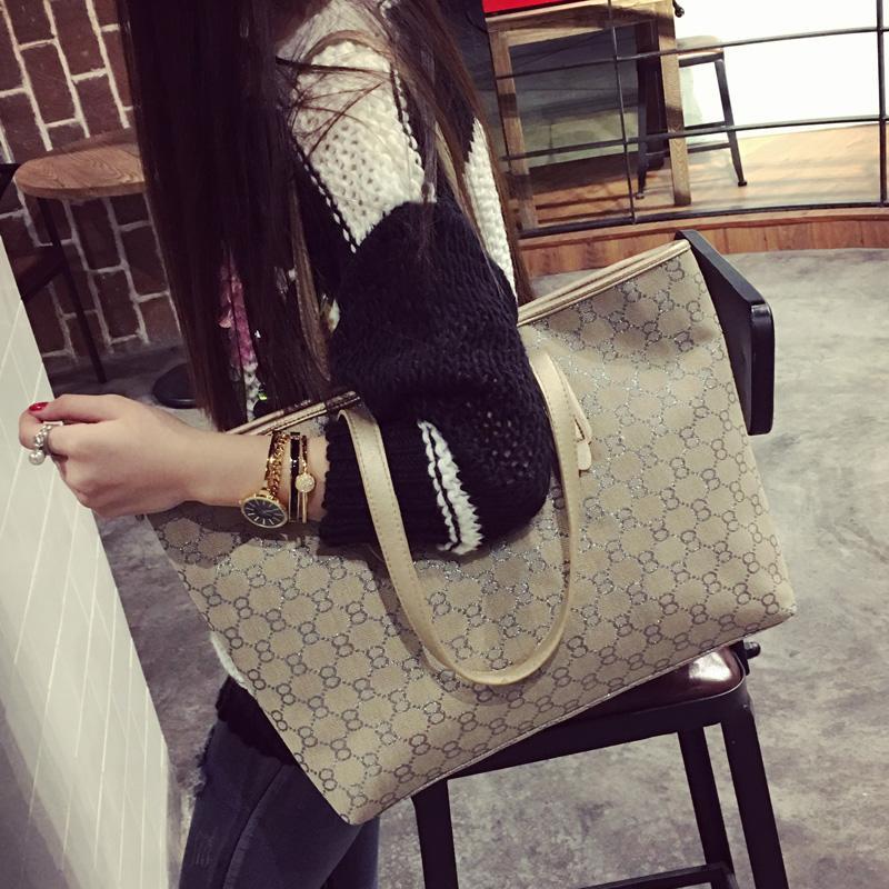 Bag Female 2019 New Style Korean Style Versatile Womens Canvas Bag Simple large bag Fashion Tote Bag Shoulder Bag Womens Bag