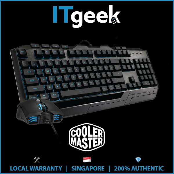 Cooler Master Devastator 3 Plus Gaming Keyboard and Mouse Combo Singapore