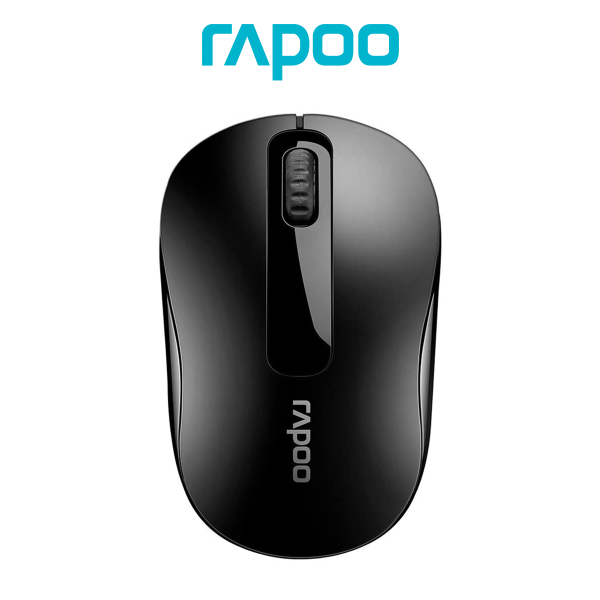 Rapoo M10+ Wireless Optical Mouse Gaming Mouse 2.4GHz Wireless Mice For Laptop Notebook 9 Months Battery Life