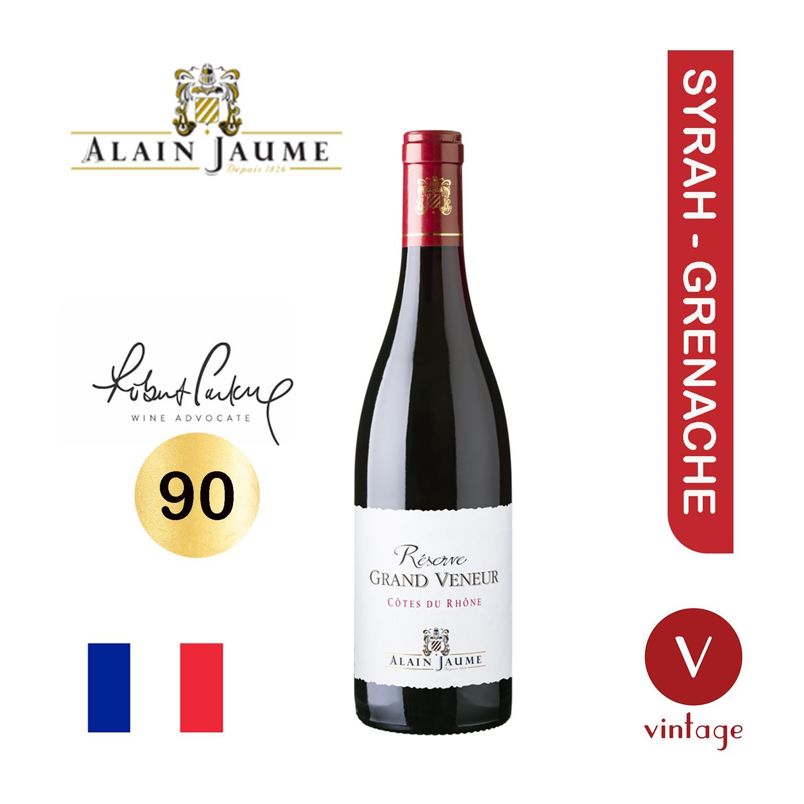 Domaine Grand Veneur Cotes Du Rhone - Alain Jaume - Red Wine - By The Vintage Wine Club