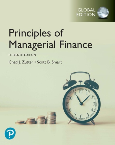 Principles of Managerial Finance, Global Edition   Edition 15   9781292261515   Paperback