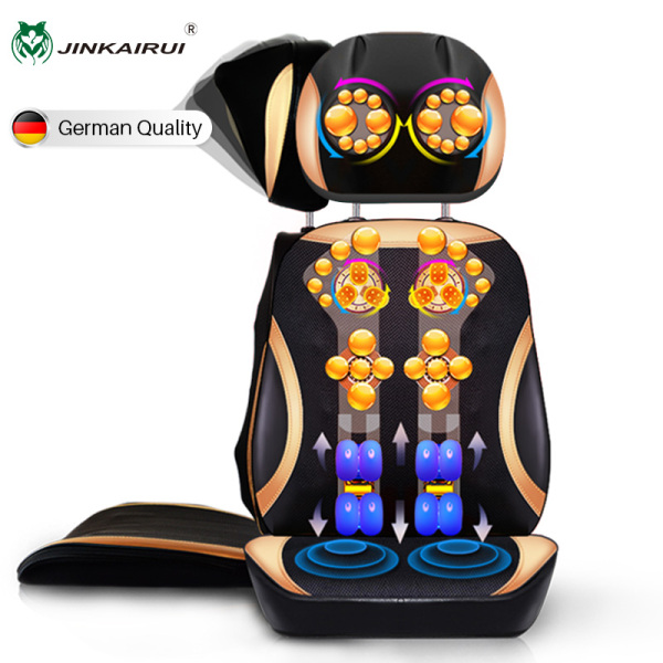 Buy Jinkairui Electric Neck/ Back Massager Seat Cushion for Body All kinds of Sofa / Chair / Seats Use Singapore