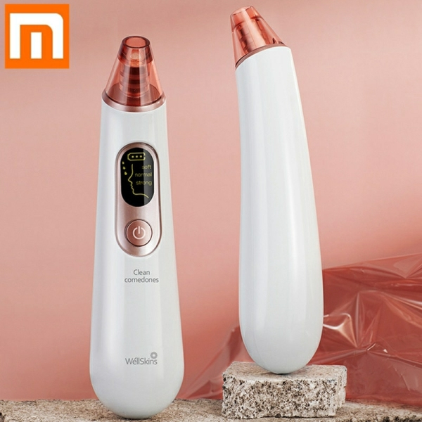 Buy Original Xiaomi Wellskins Electric Blackhead Cleaner Deep Pore Cleanser Acne Pimple Removal Vacuum Suction Singapore