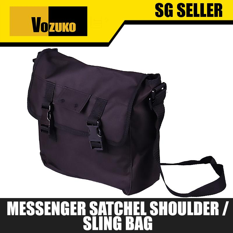 SG Seller Messenger Bag Satchel Shoulder Crossbody Sling Working Bag Bookbag for Men and Women [146]
