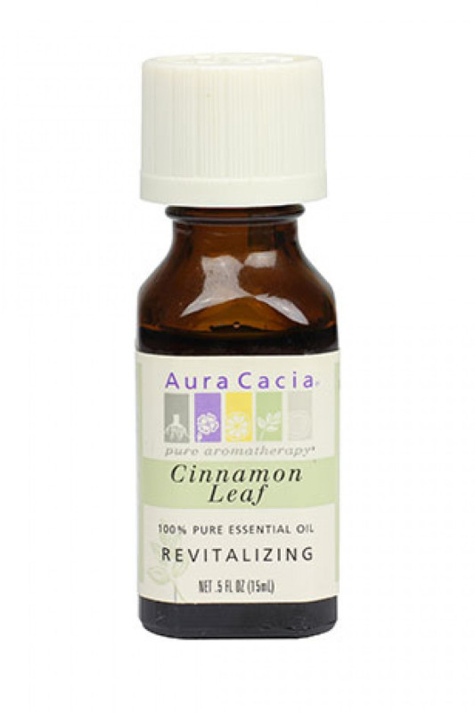 Buy Aura Cacia Cinnamon Leaf Essential Oil (15ml) Singapore