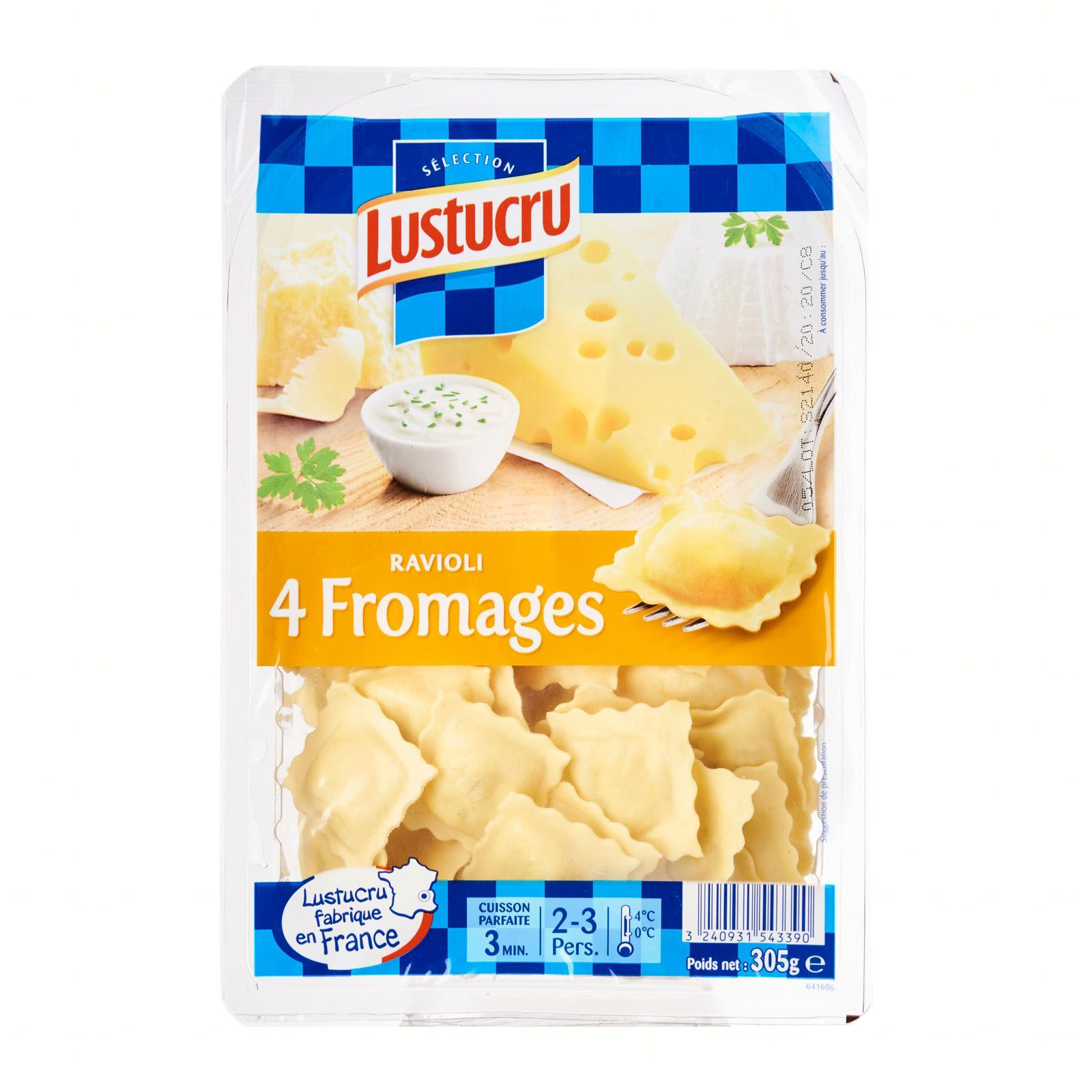 Lustucru Four Cheese Ravioli - By Le Petit Depot By Redmart.
