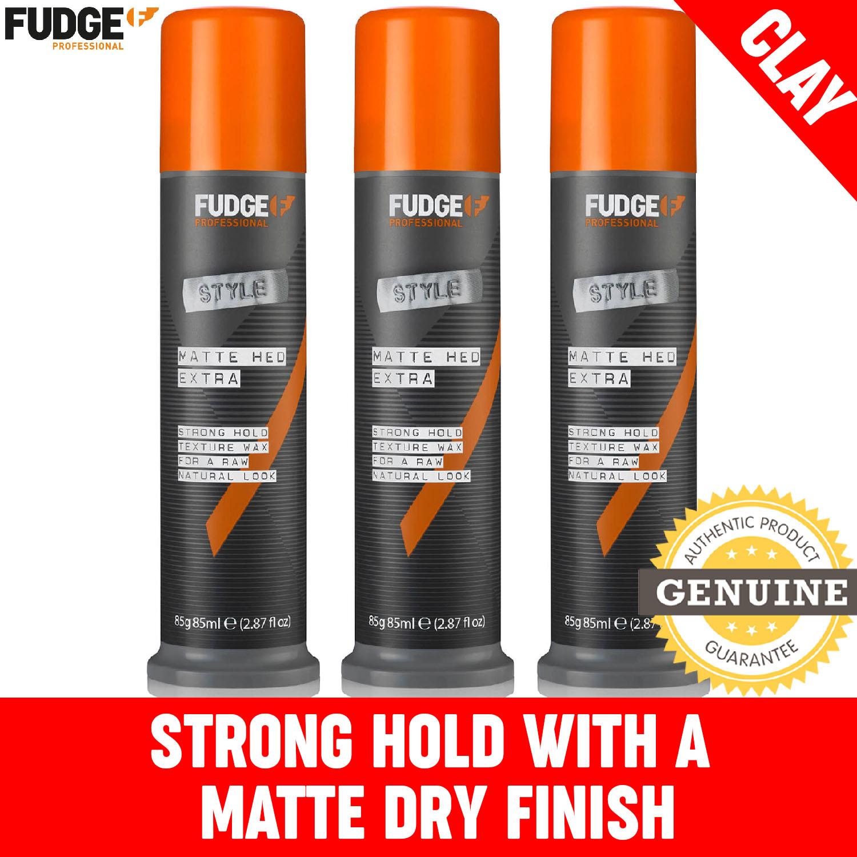 Buy (Bundle of 3) Fudge Matte Hed Extra 85g Singapore