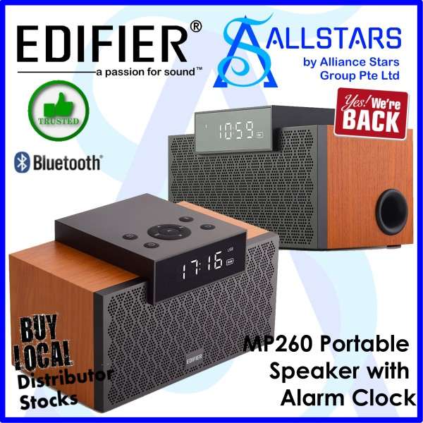 (ALLSTARS : WE ARE BACK / Audio PROMO) EDIFIER BROWN MP260 BLUETOOTH PORTABLE SPEAKER (Local Warranty 2years with BanLeong)