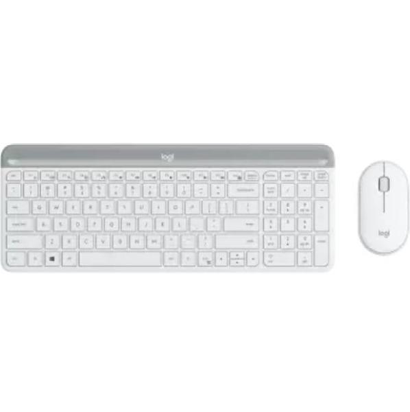 Logitech MK470 Slim, Compact and Quiet Wireless Keyboard and Mouse Combo
