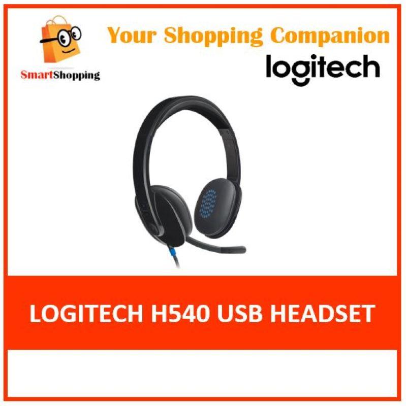 (Original) Logitech H540 USB Computer Headset - Black  2 Yr SG Warranty Singapore
