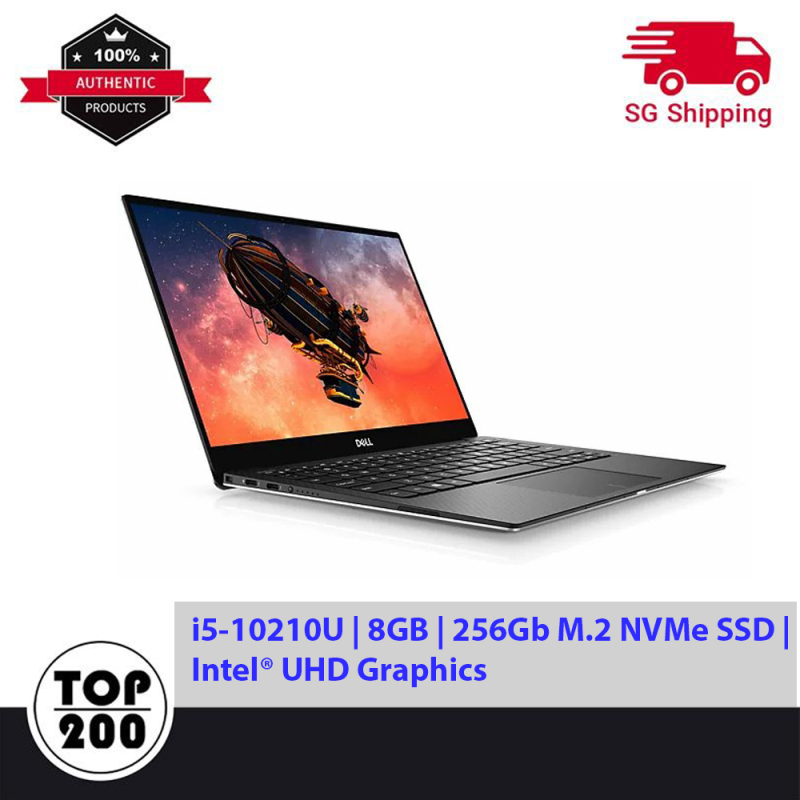 DELL XPS 13 7390 Touch screen (i5-10210U | 8GB | 256Gb M.2 NVMe SSD | Intel® UHD Graphics | 13.3 FHD TOUCH | Win10-Home)