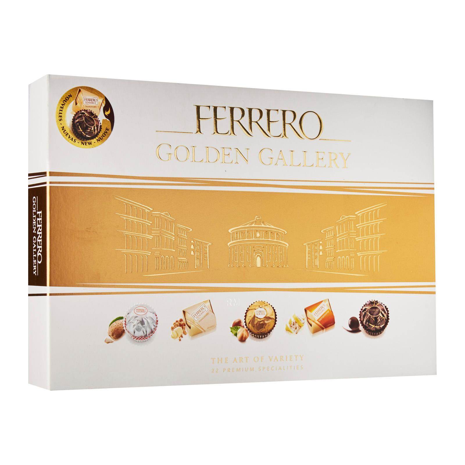 Ferrero Rocher Golden Gallery Collection Chocolates - Christmas Special