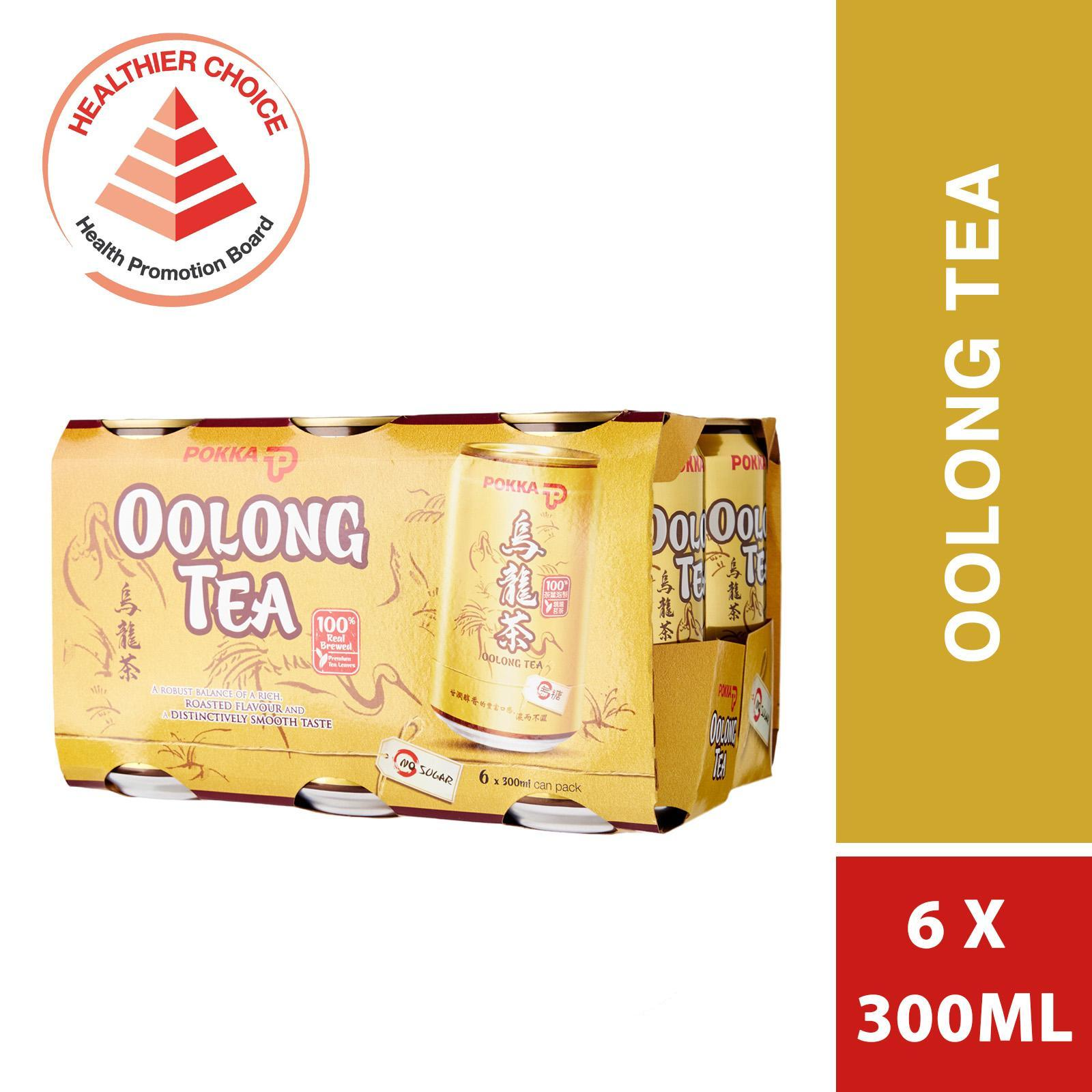 POKKA Jasmine Green Tea - No Sugar 6sX300ml