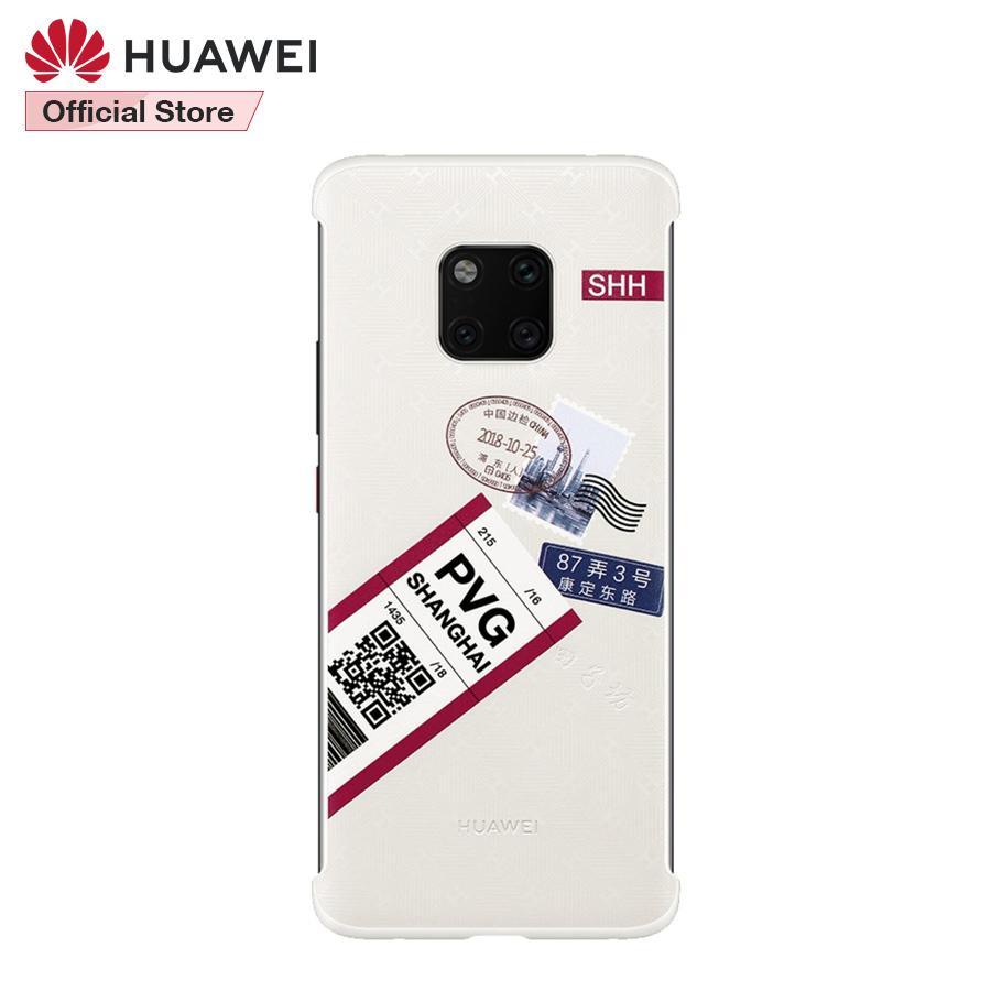 Original Huawei Mate 20 Pro Travel Theme Case Cover