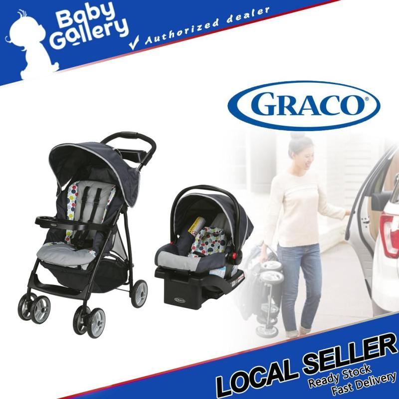 Graco LiteRider LX Stroller Travel System Etcher Singapore