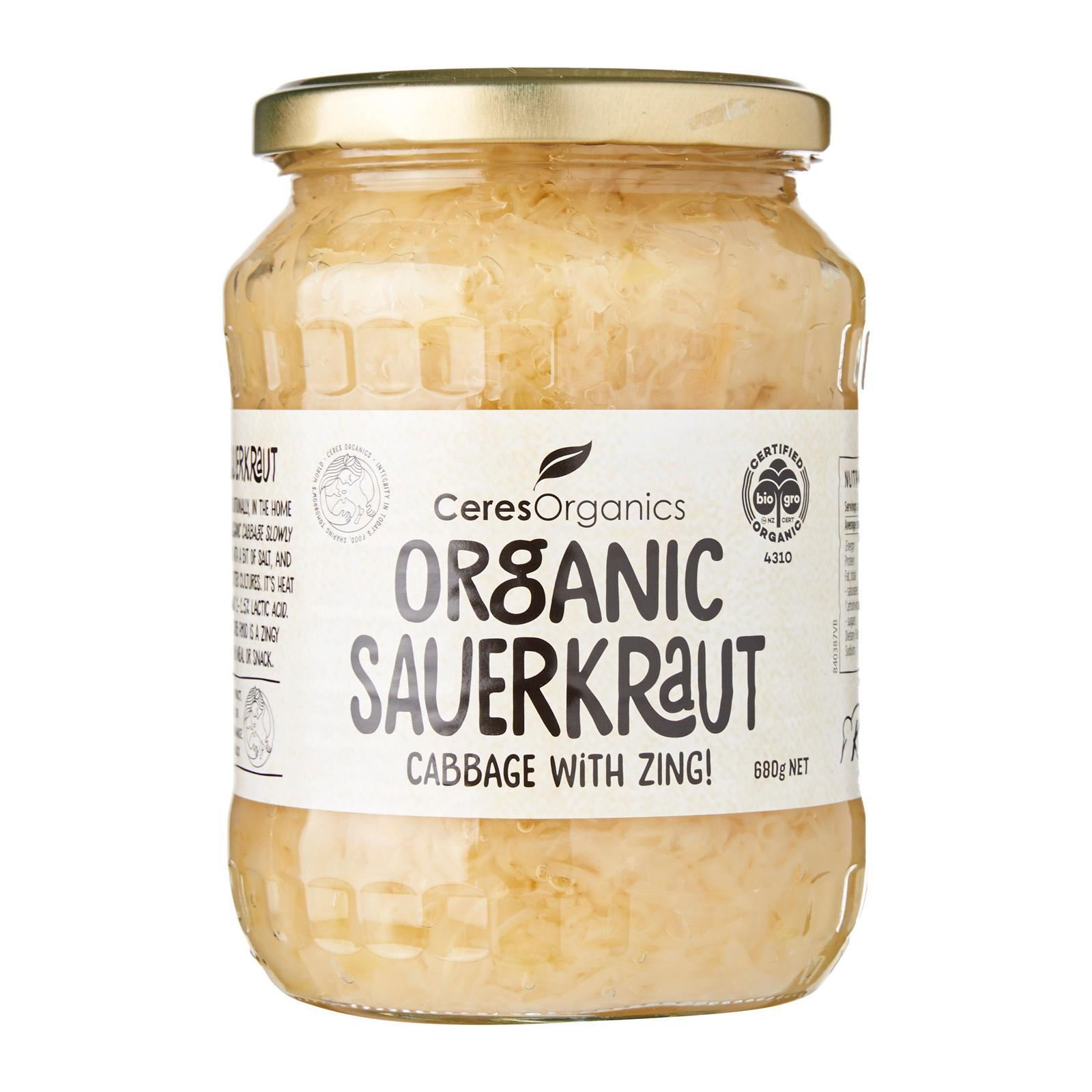 CERES ORGANICS Sauerkraut - by Optimo Foods