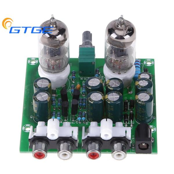 【GTGE】 [Chinatera] 6J1 Hifi Stereo Electronic Tube Preamplifier Board Finished Preamp Amplifer Module Bile Amp Effect Parts Singapore