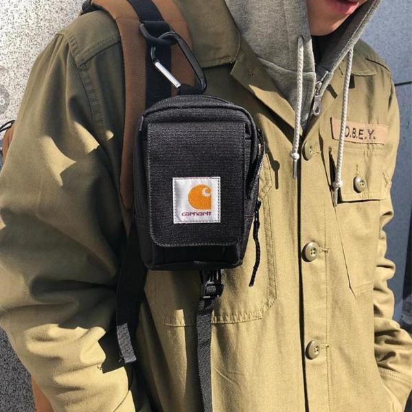 Carhartt Men Stylish Waist Bag Buckle Storage Bag Coin Purse Bags