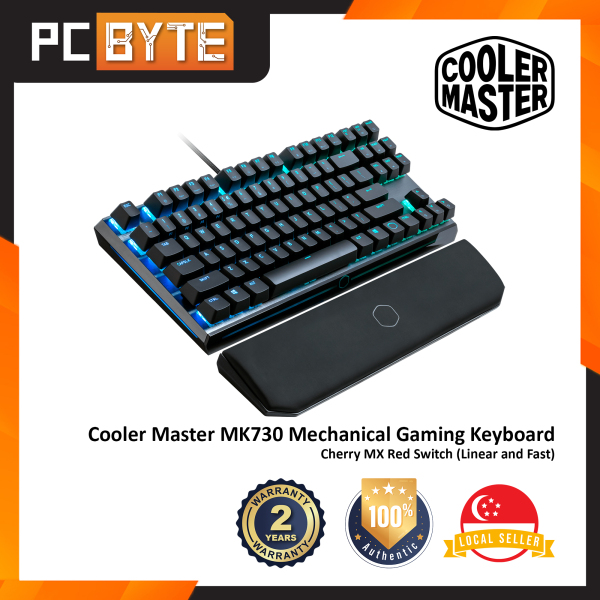 Cooler Master MasterKeys MK730 - Gaming Mechanical Keyboard (Cherry MX Switches, TKL, RGB Illumination) Singapore