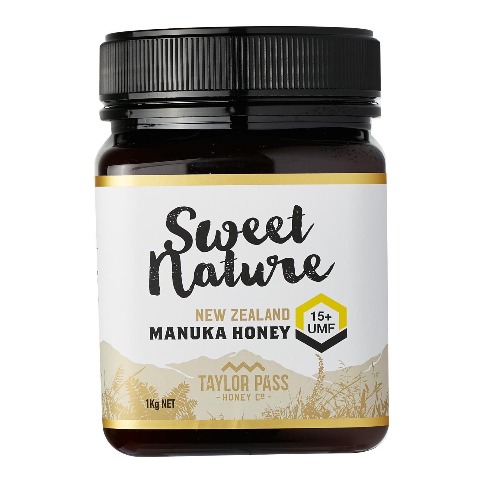 Sweet Nature UMF 15+ Manuka Honey - By Nature's Nutrition